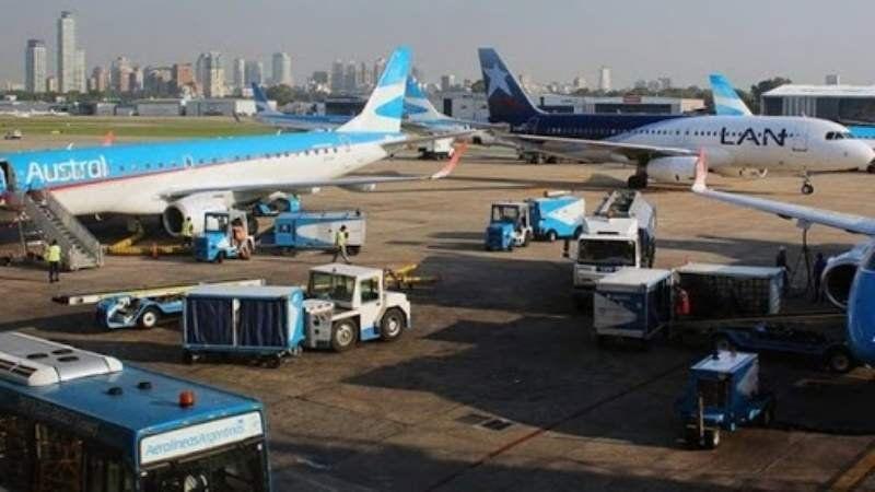 Aeroparque volverá a operar vuelos a países de la región