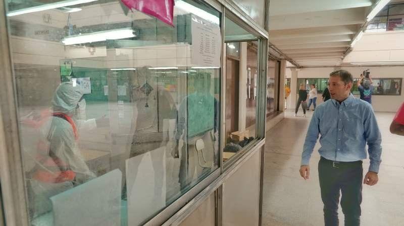 Fernando Gray: Desinfectamos todas las escuelas de Esteban Echeverría