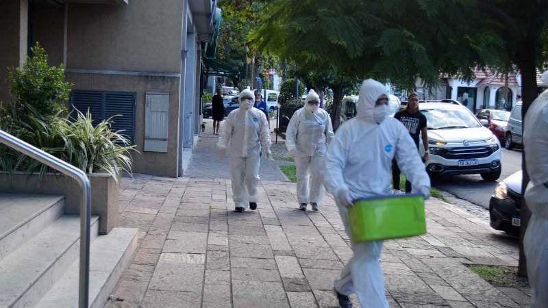 Lanús reportó este martes cinco nuevos infectados y dos pacientes dados de alta