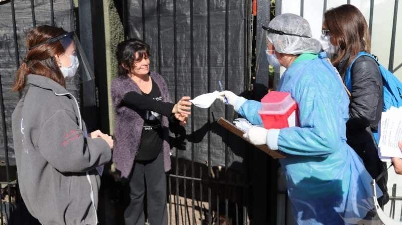 Coronavirus: Terminó la inspección casa por casa en Monte Chingolo y se sumaron nuevos infectados
