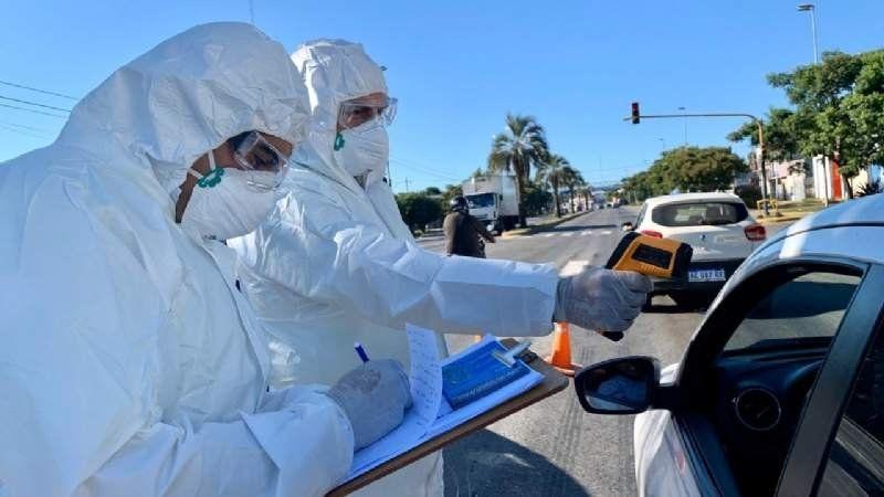 Brown superó los 100 casos de coronavirus: récord de contagios y un muerto