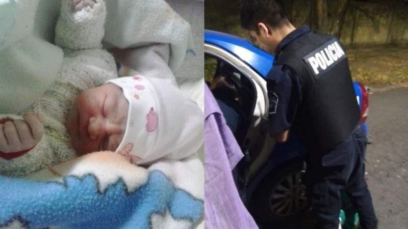 Una vecina de Banfield dio a luz a su beba en un patrullero policial