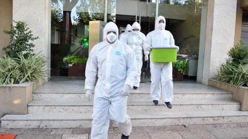 Nuevos contagios de coronavirus en Brown: 12 vecinos dieron positivo