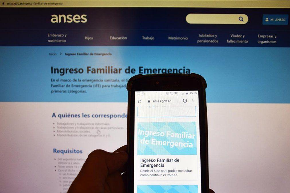 Anses: cómo será el pago del Ingreso Familiar de Emergencia