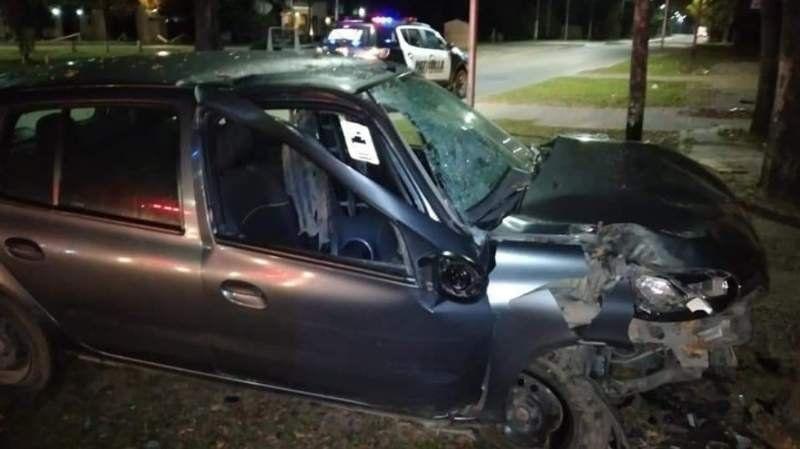 Grave accidente en la curva de La Estelita: dos hospitalizados