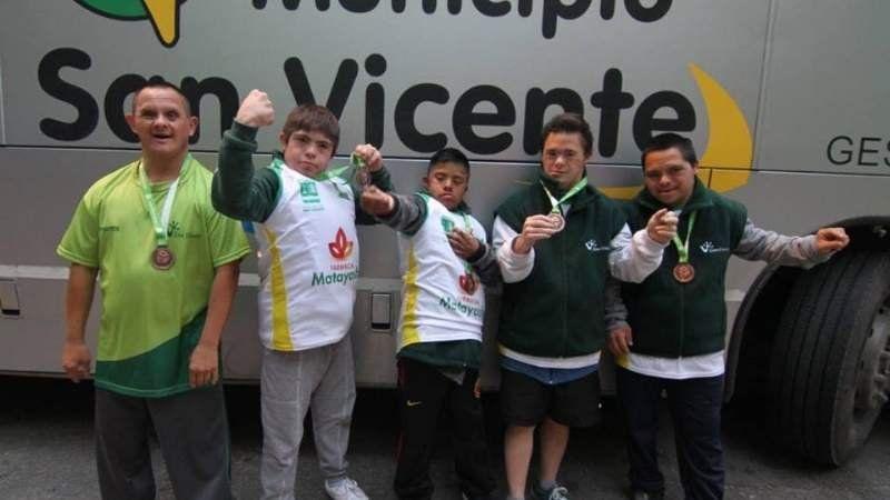 Resumen: todas las medallas de San Vicente en los Juegos Bonaerenses