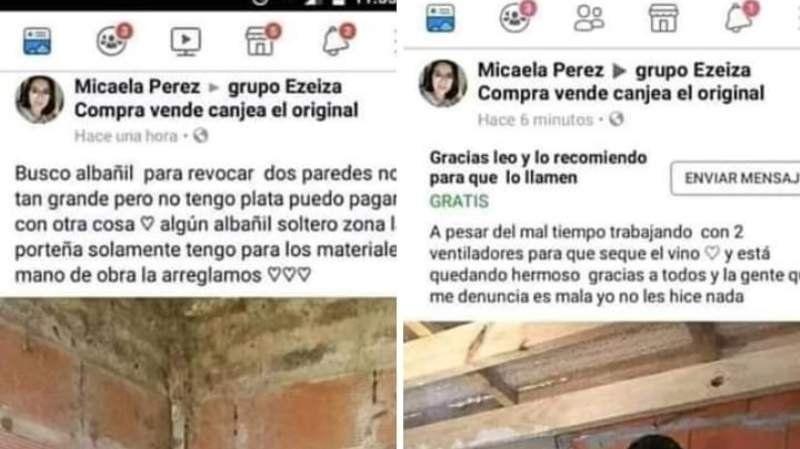 Viral: El pedido insólito que una mujer realizó en un grupo de Ezeiza