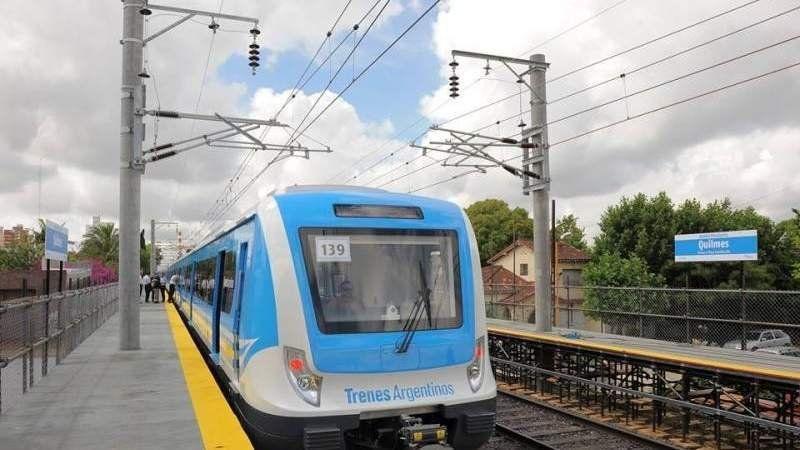 Tren Roca: Reducen el servicio durante el fin de semana en el ramal Bosques