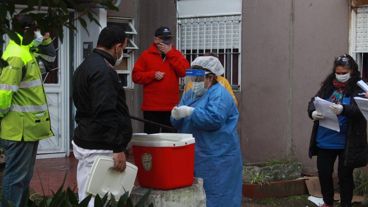 Almirante Brown: Leve baja en los casos de coronavirus