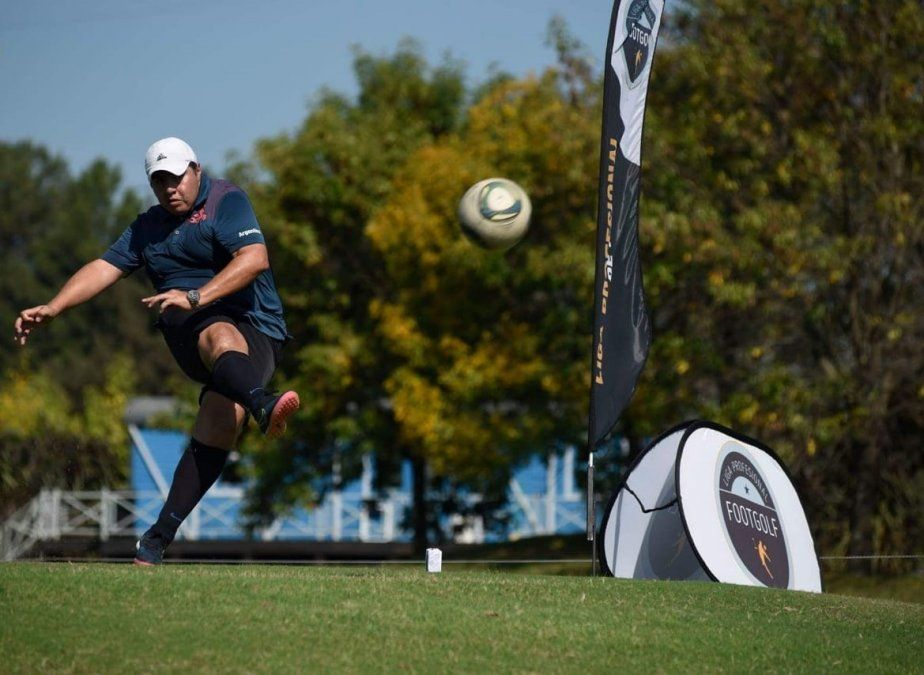 Deporte: el footgolf crece como disciplina y se ofrece como una alternativa recreativa.