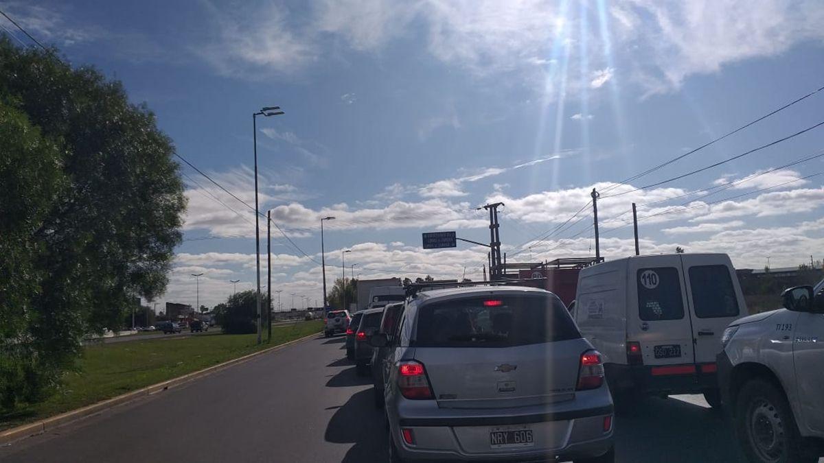 Lomas de Zamora: embotellamiento por controles vehiculares