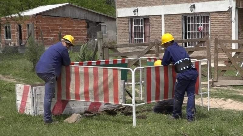 Firman convenio para ampliar la red de agua de Domselaar