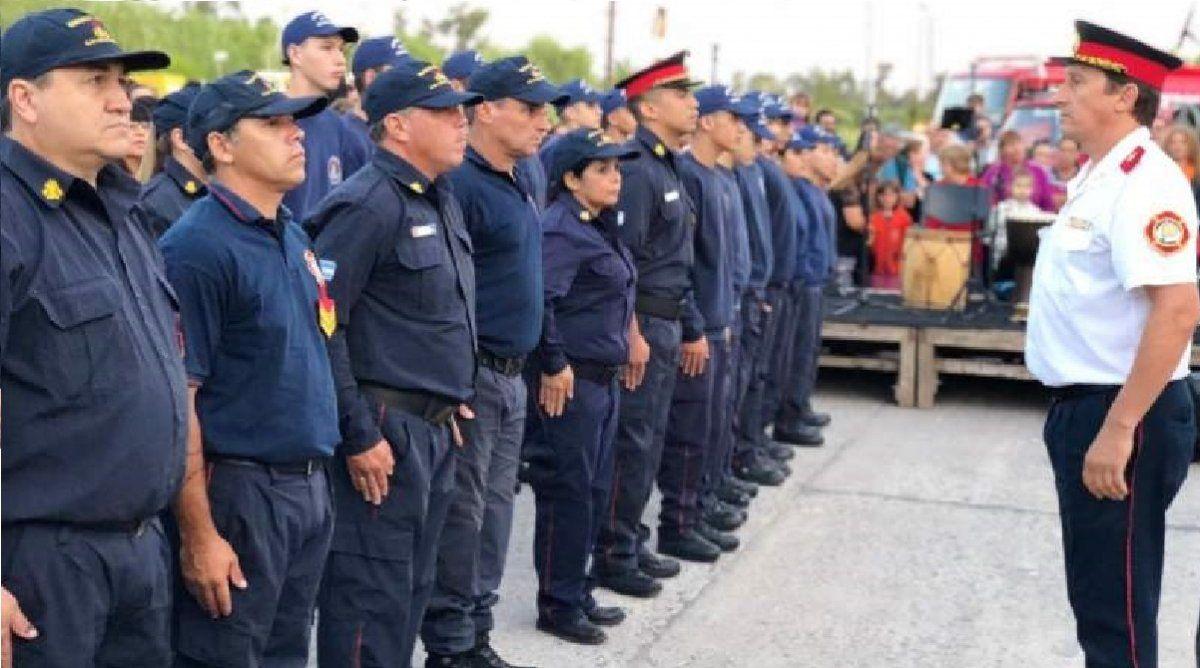 Día del Bombero en San Vicente: el festejo en cuarentena