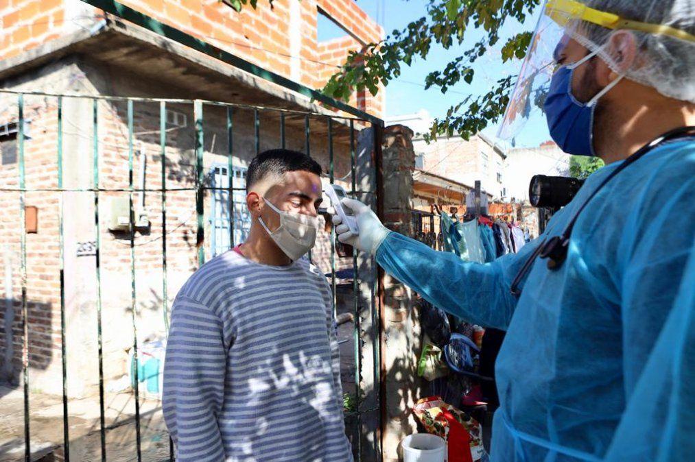 Esteban Echeverría: hicieron más de 3000 testeos de síntomas