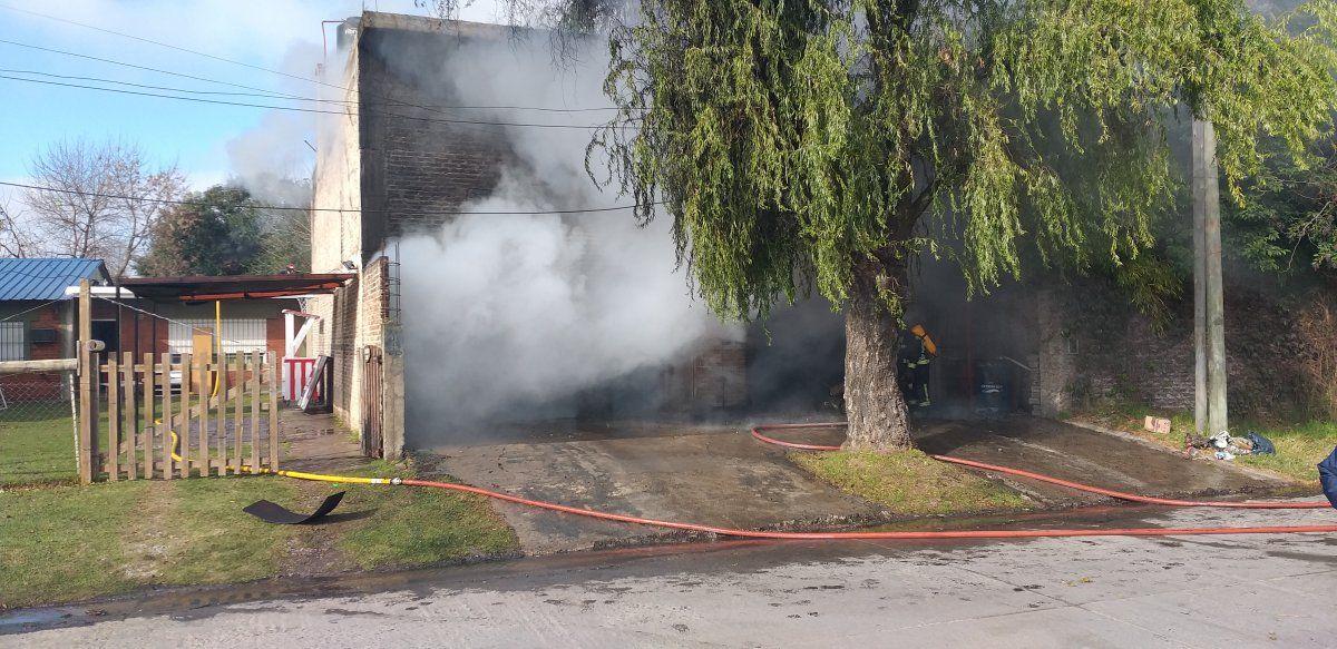 Ezeiza: galería de fotos del incendio en La Unión