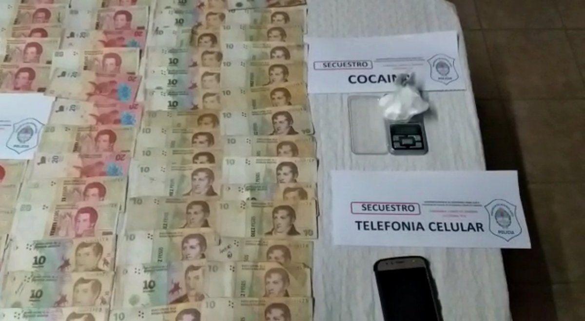 Llavallol: persecución y dos detenidos por narcomenudeo