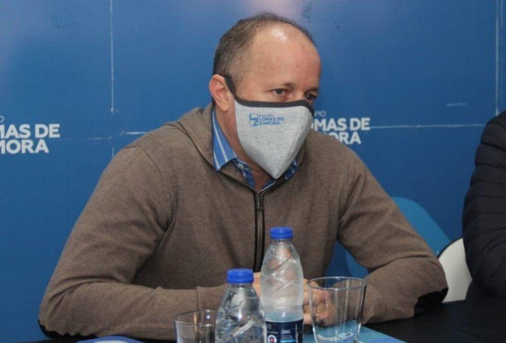 Insaurralde se recuperó del coronavirus y retoma su agenda