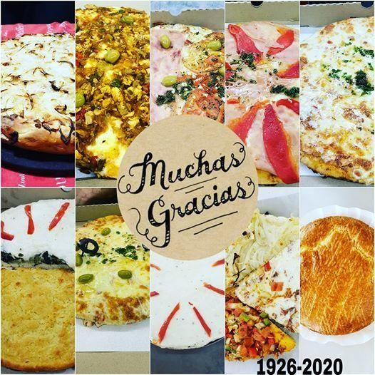 Así se despidieron desde la pizzería El Rubí tras cerrar por la crisis económica que golpea al país