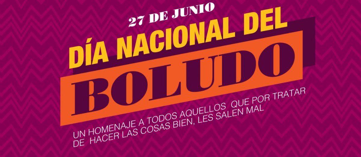 Efeméride: Hoy es el Día Nacional del Boludo