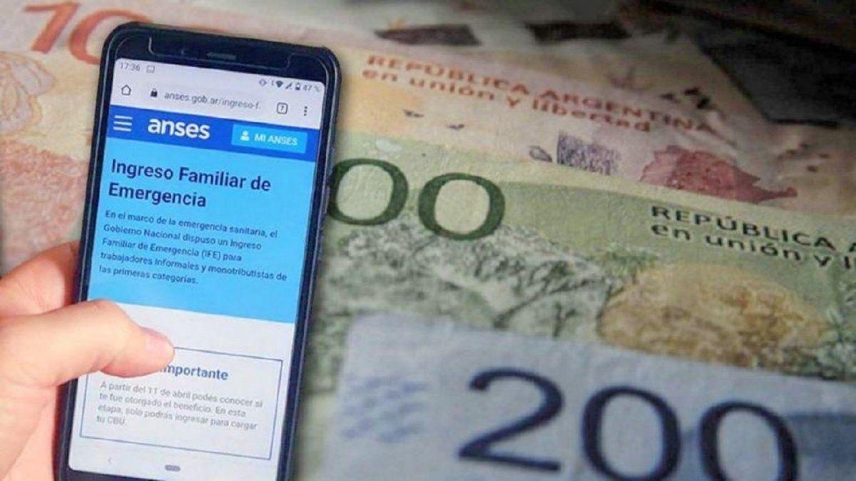 El Gobierno oficializó el pago del tercer bono del IFE
