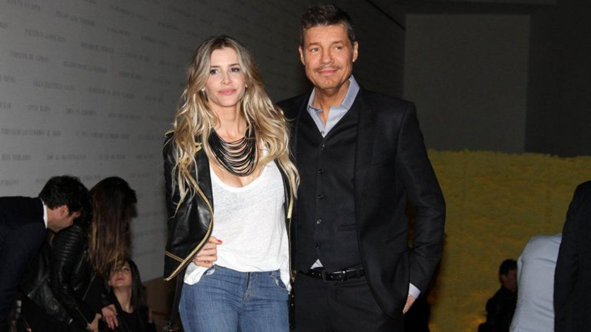 Marcelo Tinelli y Guillermina Valdés están separados