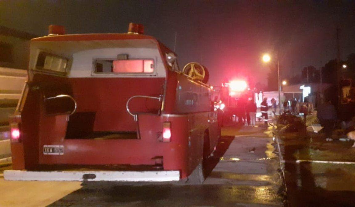 Incendio en dos casas de El Jagüel dejó pérdidas totales