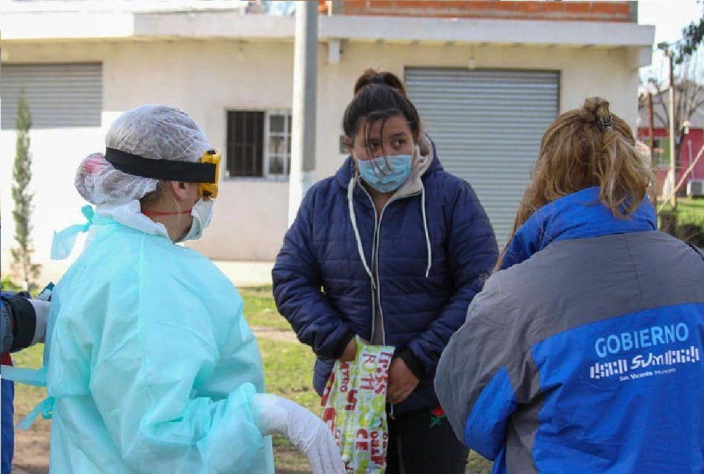 San Vicente: confirman nuevo caso de coronavirus y un alta