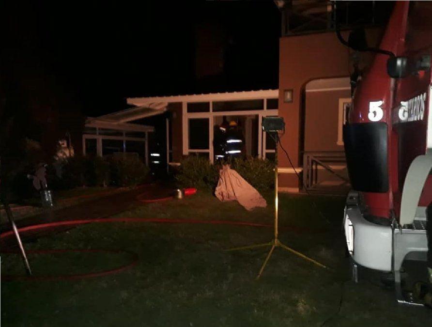 Comerciante de San Vicente sufrió un incendio en su casa