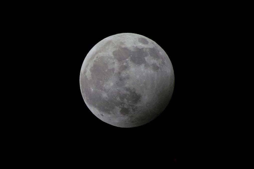 Un eclipse de luna sorprenderá este fin de semana