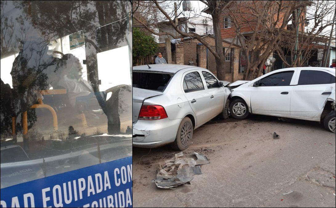 Rafael Calzada: Colectivero se desvaneció y chocó tres autos