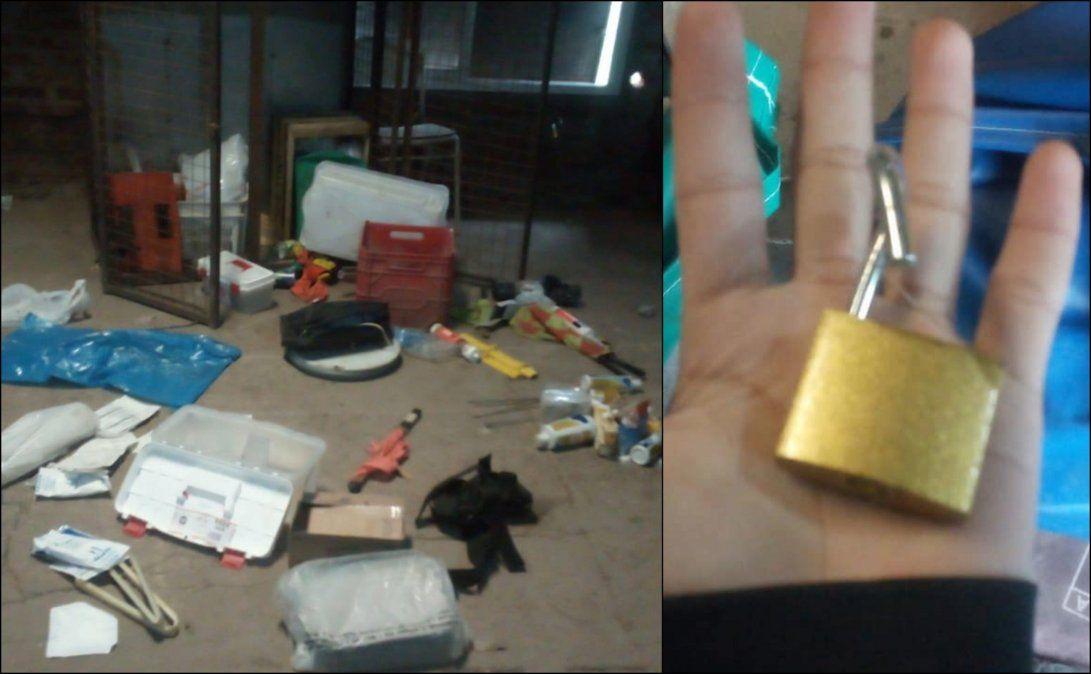 Defensores de Glew sufrió dos robos en 48 horas