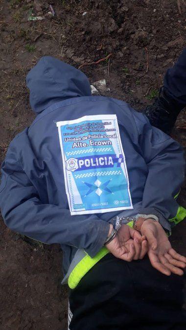 Detuvieron a falso policía armado en Burzaco