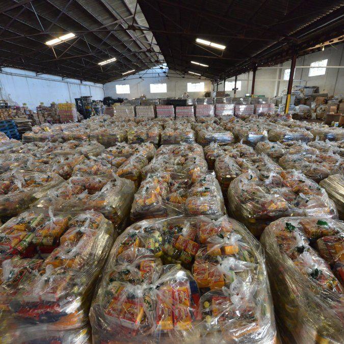 Refuerzan los módulos alimentarios entregados en cuarentena