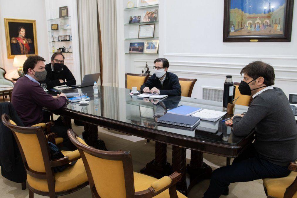 Kicillof se reunió con el ENRE por cortes en el conurbano