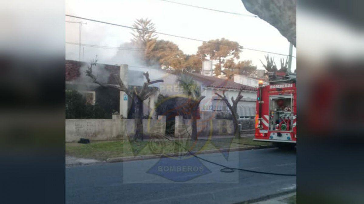Bomberos Voluntarios de Brown tuvieron 3 incendios en un día