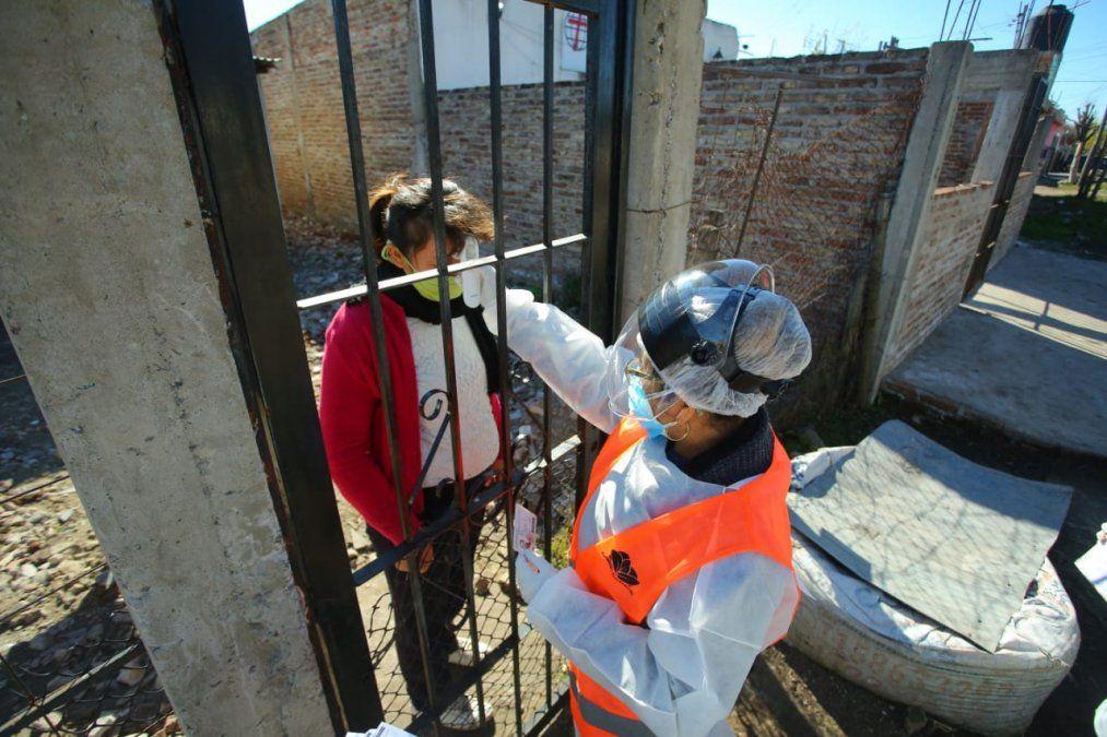 Plan Detectar: 26 mil vecinos de controlados en Echeverría