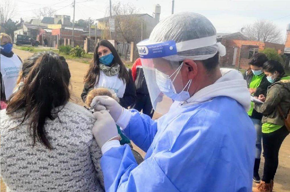 San Vicente: 8 nuevos casos de coronavirus y 14 recuperados