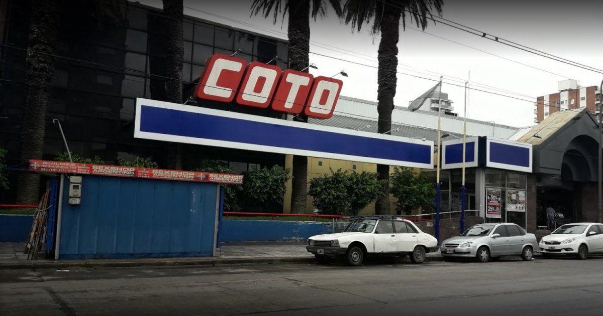Coto: Falleció por coronavirus un trabajador del conurbano