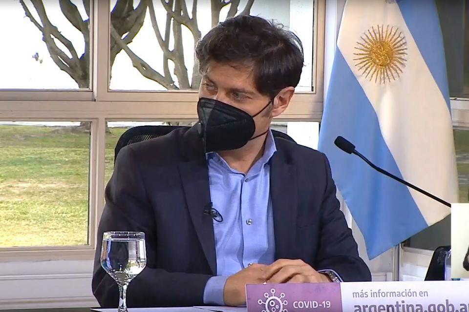 Kicillof: En el Gran Buenos Aires seguimos igual