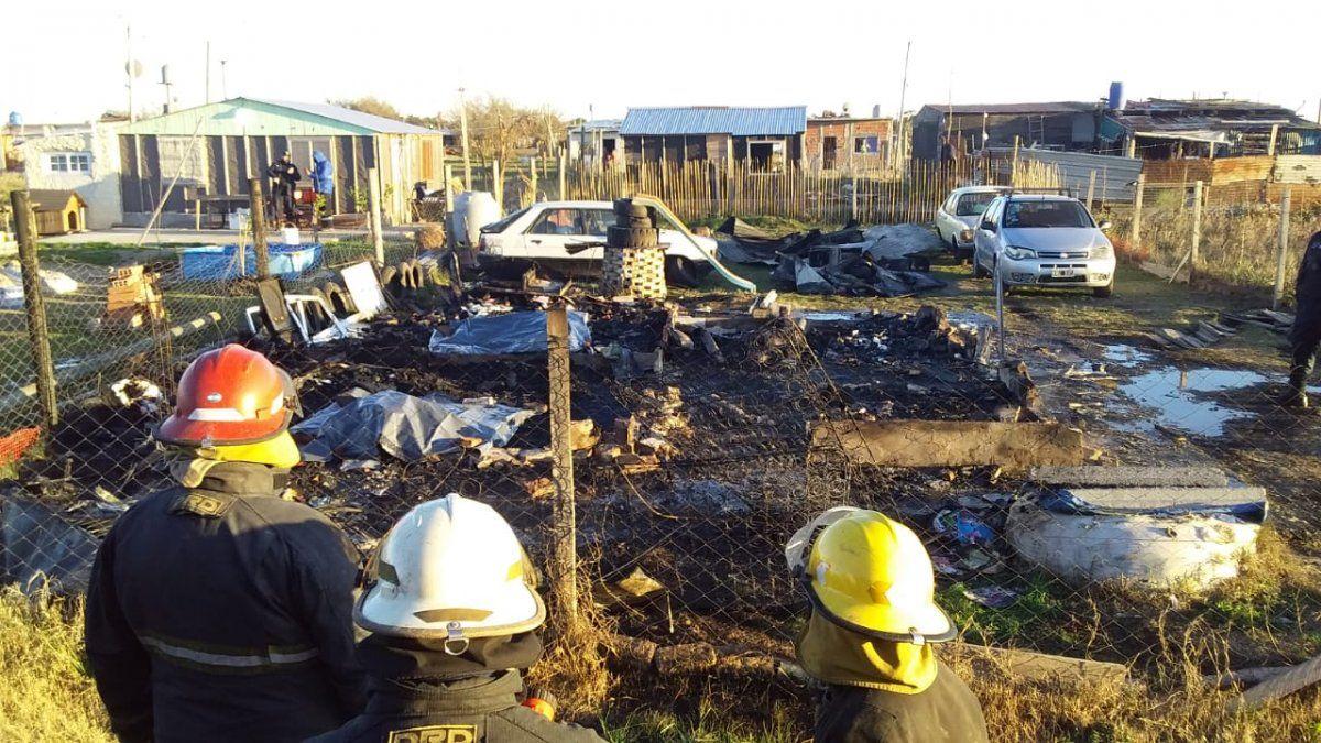 Incendio fatal en Brown: Cómo sigue la nena rescatada