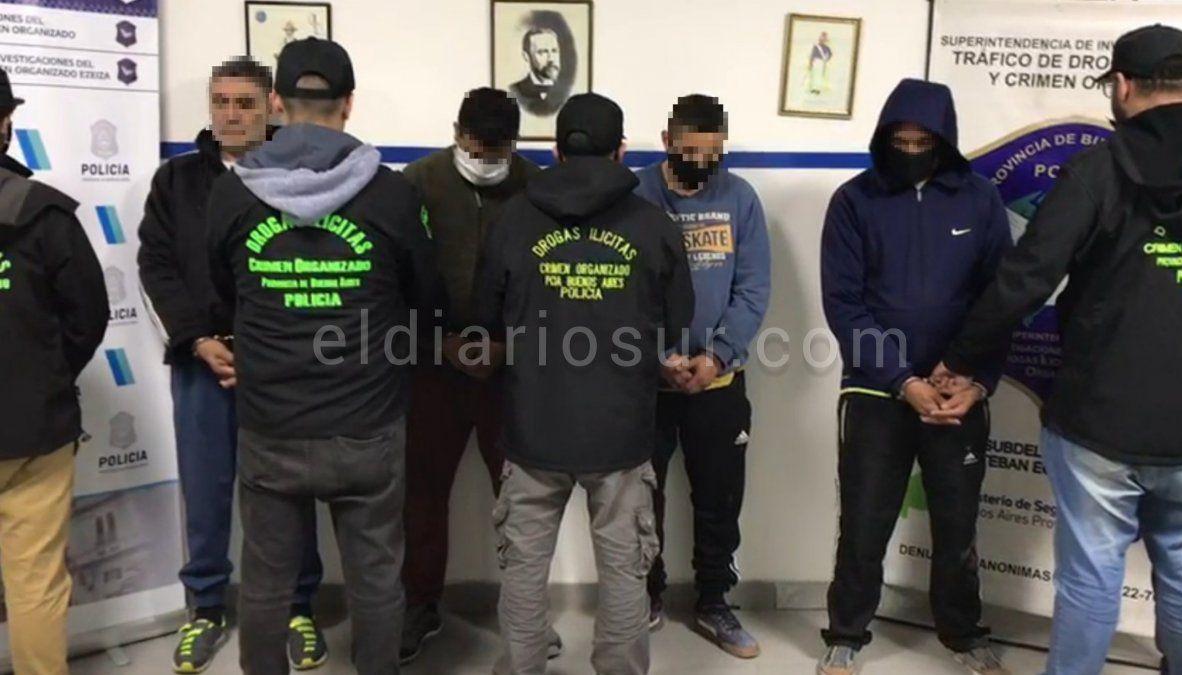 Desarticulan banda narco en Esteban Echeverría y Ezeiza