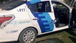 insolito: desvalijaron un patrullero en un operativo en berazategui