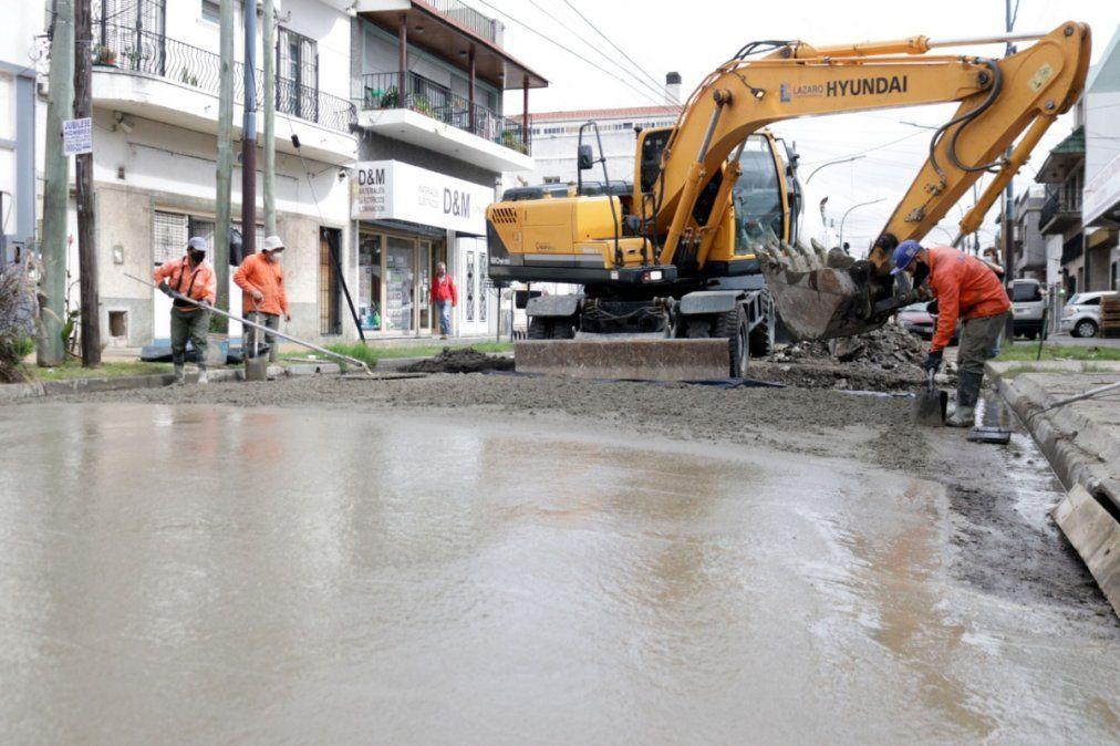 Lanús: Coronel Delia se encuentra cortada en un tramo por obras