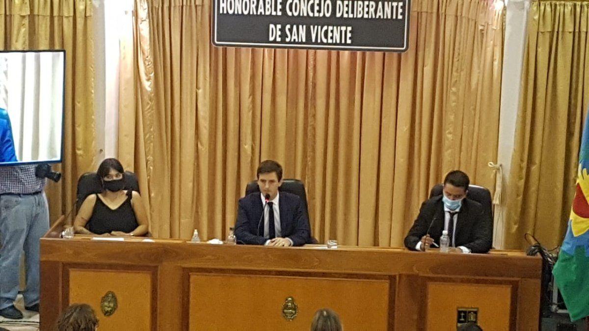 Mantegazza anunció la construcción de 2 escuelas, 3 jardines y una base para Gendarmería