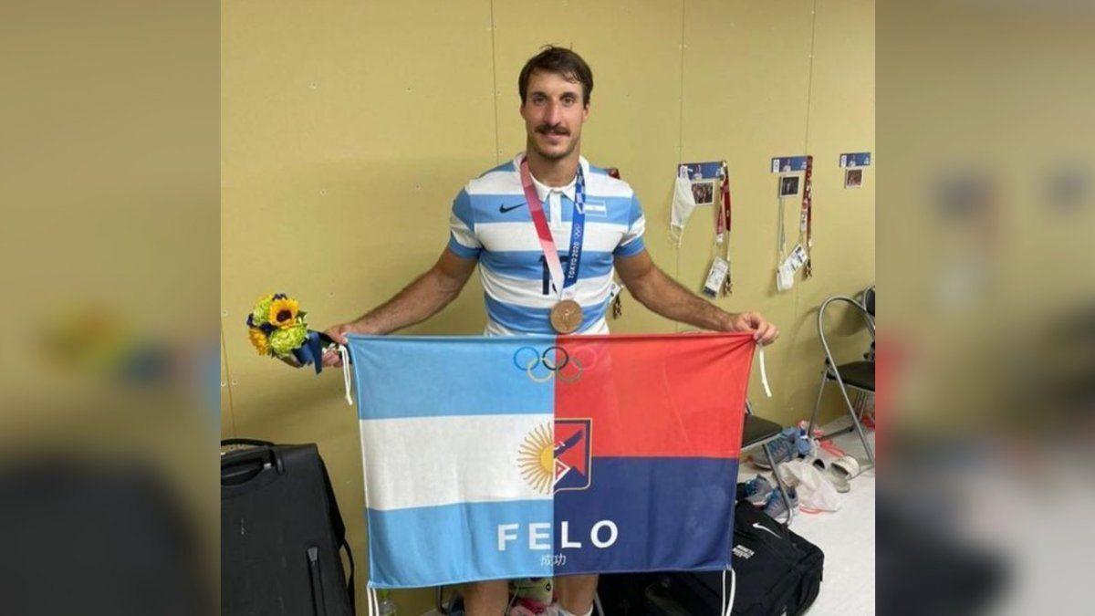 Juegos Olímpicos: Felipe Del Mestre fue declarado personalidad destacada de Almirante Brown