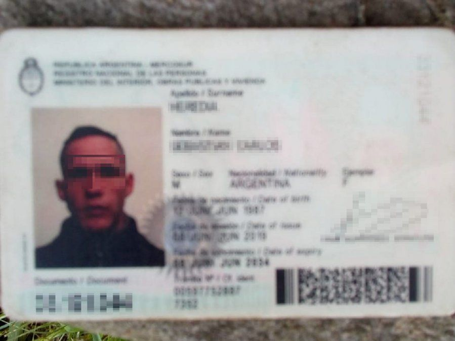 Entró a robar en un comedor de Burzaco: perdió su documento y lo escracharon