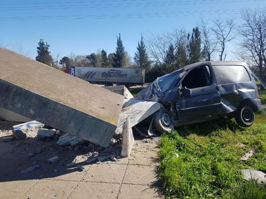 Accidente gravísimo en San Vicente: ¿Intento de suicidio?