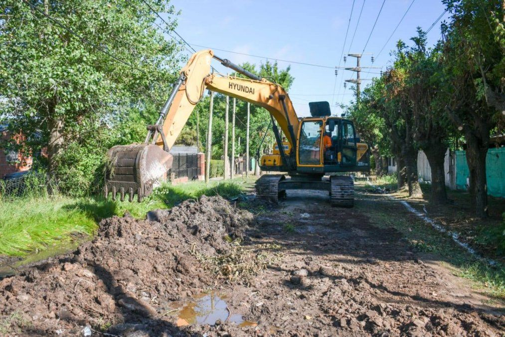 Última etapa de los nuevos asfaltos: una calle de Alejandro Korn