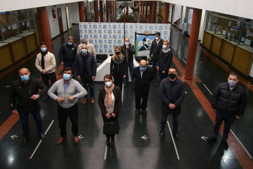 Fuerte rechazo de los intendentes de la región a las tomas de tierras: reunión en Guernica
