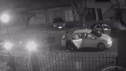 terror en banfield: robaron un auto y se llevaron a la victima